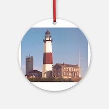Montauk Lighthouse Ornament (Round)