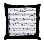 Prelude Du Fornication Throw Pillow