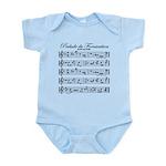 Prelude Du Fornication Infant Bodysuit