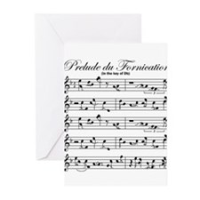 Prelude Du Fornication Greeting Cards (Pk of 20)