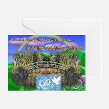 Rainbow Bridge Greeting Cards (Pk of 10)