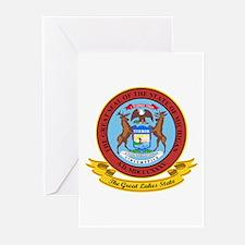Michigan Seal Greeting Cards (Pk of 10)