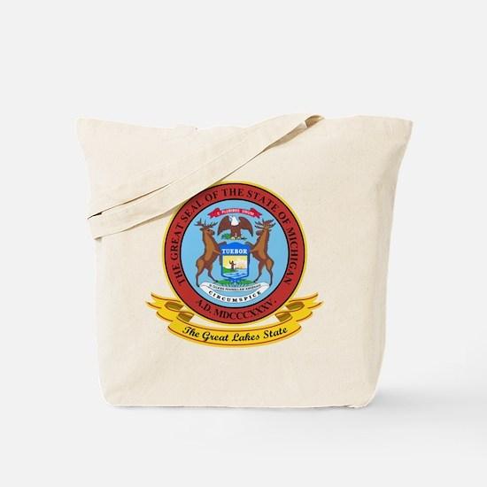 Michigan Seal Tote Bag