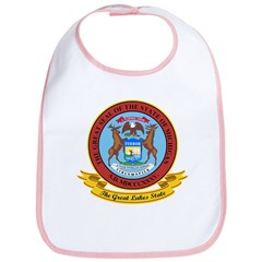 Michigan Seal Bib