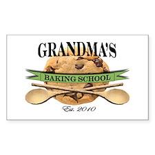 Grandma's Baking School 2010 Decal
