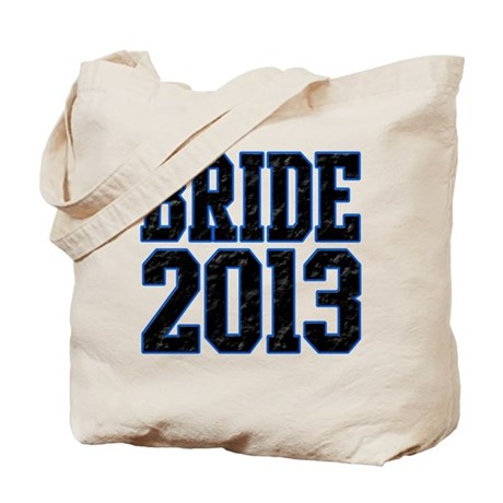 Bride 2013 Tote Bag