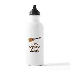 Soprano Ukulele Water Bottle