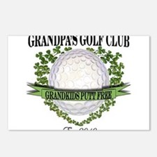 Grandpa's Golf Club 2010 Postcards (Package of 8)