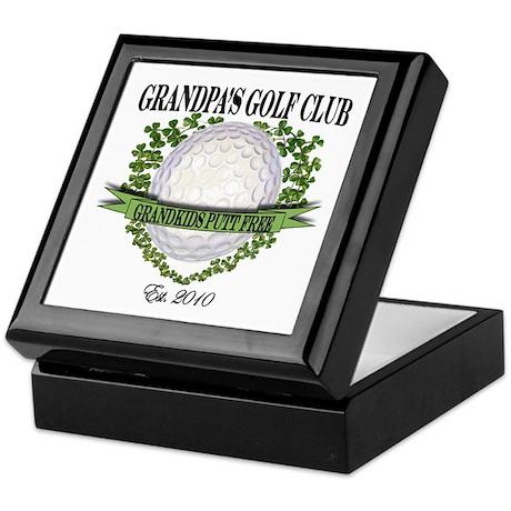 Grandpa's Golf Club 2010 Keepsake Box
