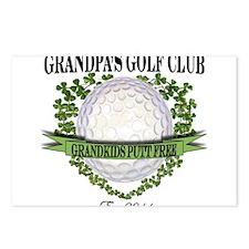 Grandpa's Golf Club 2011 Postcards (Package of 8)
