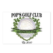 Pop's Golf Club 2010 Postcards (Package of 8)