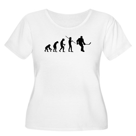 Evolution Hockey Women's Plus Size Scoop Neck T-Sh
