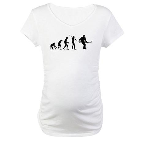 Evolution Hockey Maternity T-Shirt