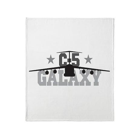 C-5 Galaxy Aviation Throw Blanket