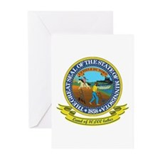 Minnesota Seal Greeting Cards (Pk of 10)