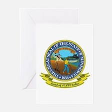 Minnesota Seal Greeting Cards (Pk of 10)