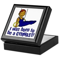 Born to be a Gymnast Jacob Keepsake Box
