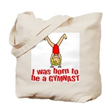 Born to be a Gymnast Isabella Tote Bag