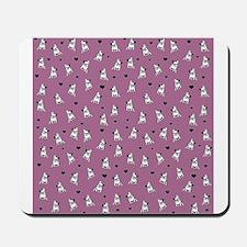 Bulldog pattern Mousepad