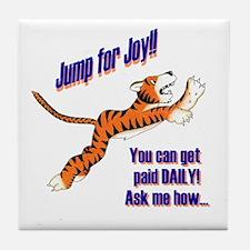 Daily Tiger Tile Coaster