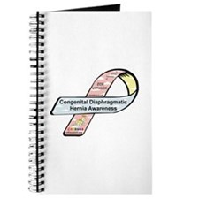Zoe Lythgoe CDH Awareness Ribbon Journal
