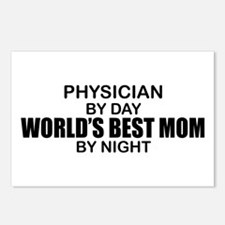 World's Best Mom - PHYSICIAN Postcards (Package of