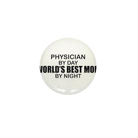World's Best Mom - PHYSICIAN Mini Button