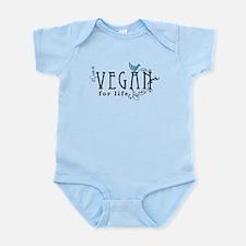 Vegan for life Infant Bodysuit