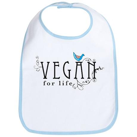 Vegan for life Bib