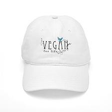 Vegan for life Baseball Cap