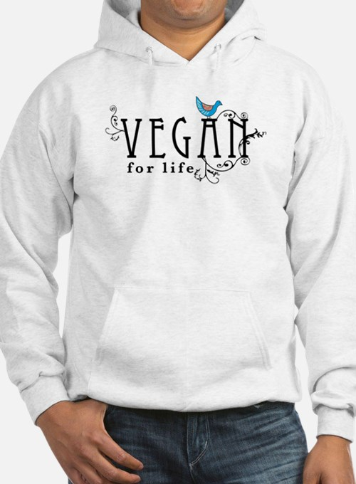 Vegan for life Jumper Hoody