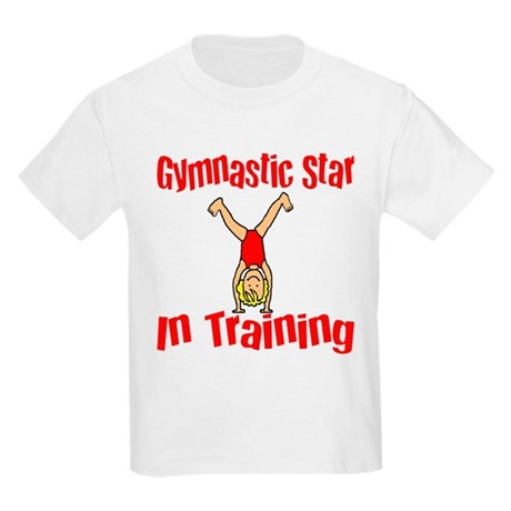 Gymnstic Star in Training Jacob Kids T-Shirt