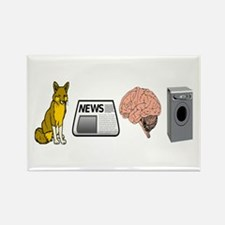 FOX NEWS Rectangle Magnet