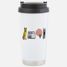 FOX NEWS Stainless Steel Travel Mug