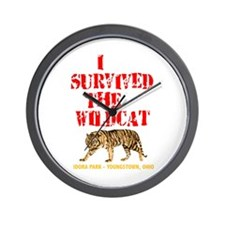 I Survived the Wildcat Wall Clock