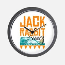 IDORA Jack Rabbit Wall Clock