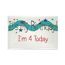 Four Today Rectangle Magnet