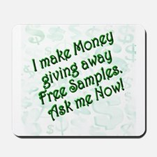 Money Samples Mousepad