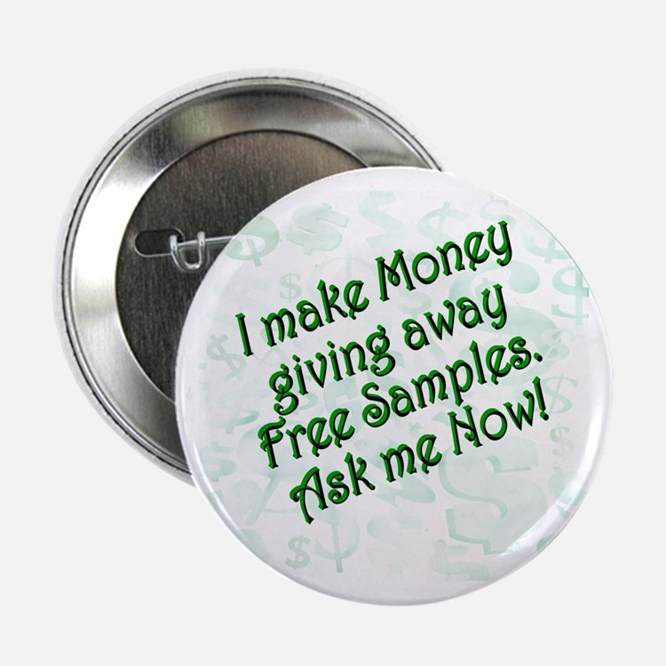 "Money Samples 2.25"" Button (10 pack)"