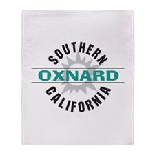 Oxnard California Throw Blanket