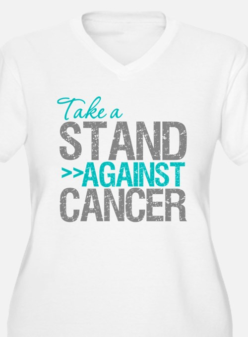 Take a Stand Ovarian Cancer T-Shirt
