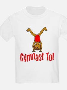 Gymnast Tot Emma Kids T-Shirt