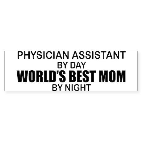 World's Best Mom - PHYSICIAN ASST Sticker (Bumper)