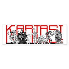 KARTASI COSTUMES Bumper Bumper Sticker