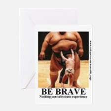 BE BRAVE2 Greeting Cards