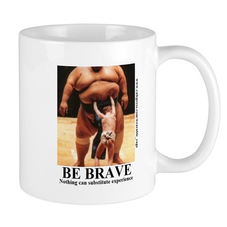 BE BRAVE2 Mugs
