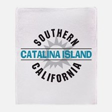 Catalina Island California Throw Blanket