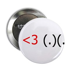 I <3 (.)(.) 2.25&quot; Button (10 pack)