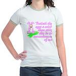 Easter Bunny Jesus Jr Ringer T-Shirt