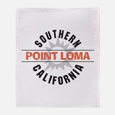 Point Loma California Throw Blanket